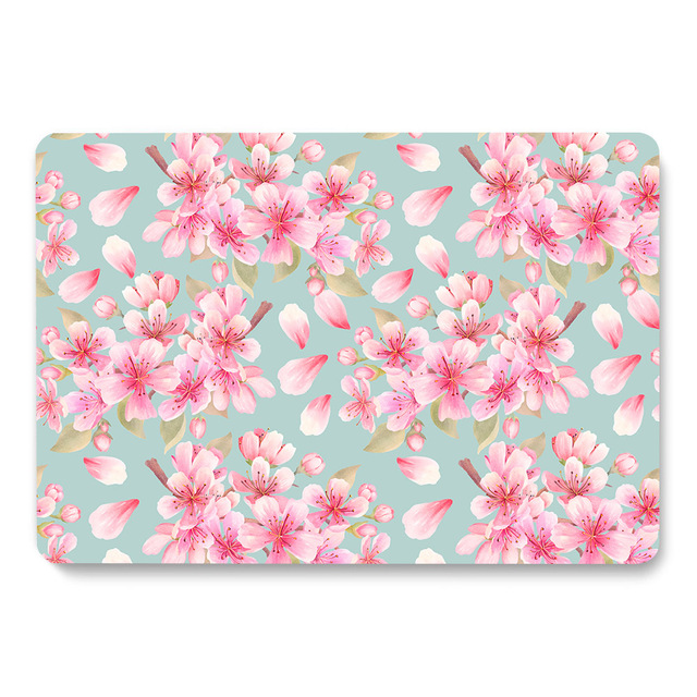 Flowers Pattern Case for MacBook 2