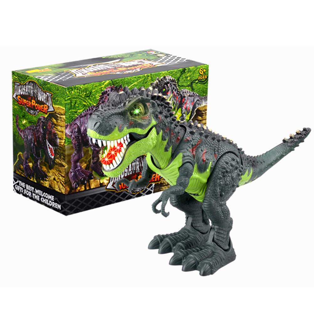 Brinquedos Dinossauro Modelo de dinossauro Brinquedos Dinossauro Andando yrannosaurus Crianças Dinossauro de Brinquedo Figura de Ação Brinquedo Andando Rugindo Em Movimento