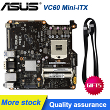 For ASUS VC60 Mini-iTX/3 generation DC power supply notebook CPU / HM76 chip DDR3 Original Used motherboard