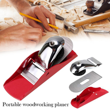 6.3inch Mini Hand Planer With Steel Bottom Portable Alloy Wood Trimmer Woodcraft Accessories For Carpenter DIY Wood Tools