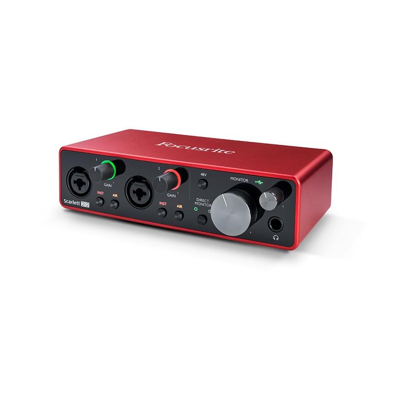 Scarlett 2i2 Three Generations USB External Sound Card Audio Interface