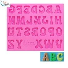 Новое поступление алфавит «сделай сам» силиконовая форма буквы