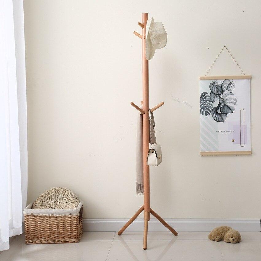 Fabricants vente directe blocs de construction Hallstand rendement simplicité porte-vêtements littérature et Art frais plancher en bois massif L