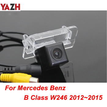 YAZH HD Rearview Parking Rear View Camera For Mercedes Benz B Class W246 2012 GPS Car Reverse Backup Cam Waterproof Night Vision image