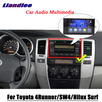 цена на Car Multimedia System For Toyota 4Runner/SW4/Hilux Surf 2002~2009 Radio Android Stereo accesorios GPS Navi Navigation Screen