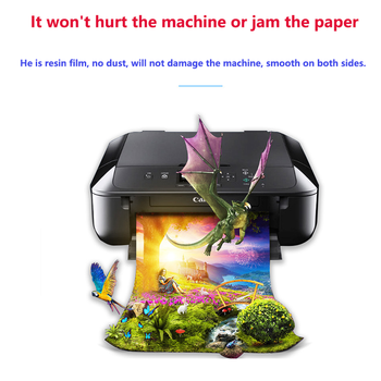 50sheets Glossy Photo Paper A3 Waterproof For Inkjet Printer Paper studio Photographer Photographic Color Coated