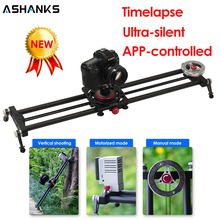 ASHANKS Silent Bluetooth Camera Slide Carbon APP Motorized Electric Delay Slider Track Rail for Timelapse Photography C200