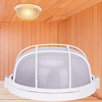 Anti-High Temperature Round Lamp Sauna Room Light Explosion Proof Waterproof Ceiling Light Khan Steam Room Accessories 1