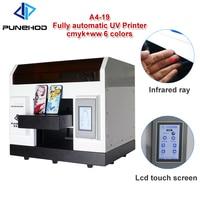 Computer hot foil digital uv flatbed stamping printing machine gold aluminum digital foil printer