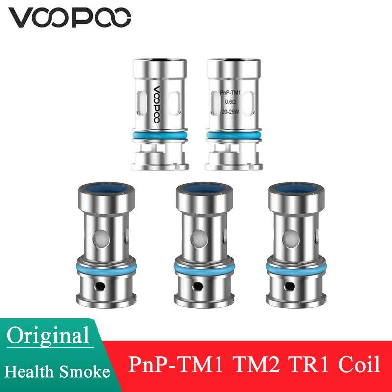 Original VOOPOO PnP bobina TM1 0.6ohm / TM2 0.8ohm / TR1 1.2ohm cabeza para Voopoo Vinci arrastrar S arrastrar X ARGUS GT ARGUS aire V traje Kit