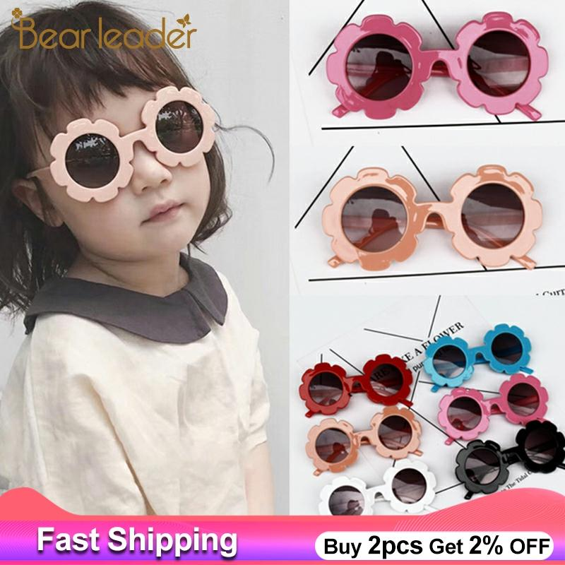 Bear Leader Kids Sunglasses Child Sun Glasses Round Flower Gafas Baby Children UV400 Sport Sunglasses Girls Boys Oculos De Sol