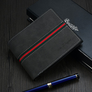 Man's wallet Fashion Men Wallets Coin Bag no Zipper Small Money Purses Dollar Slim Purse Money Clip Wallet Buckle wholesale 407
