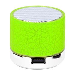 New Wireless Bluetooth Colorful Light Small Crack Sound Speaker Audio Mobile Phone Mini Subwoofer Support TF Card / U Disk / AUX