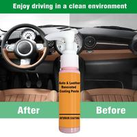 30ml Auto Leather Renovated Coating Paste Maintenance Agent  Accessories Car Wash Antifogging Agent Upholstery Cleaner 4