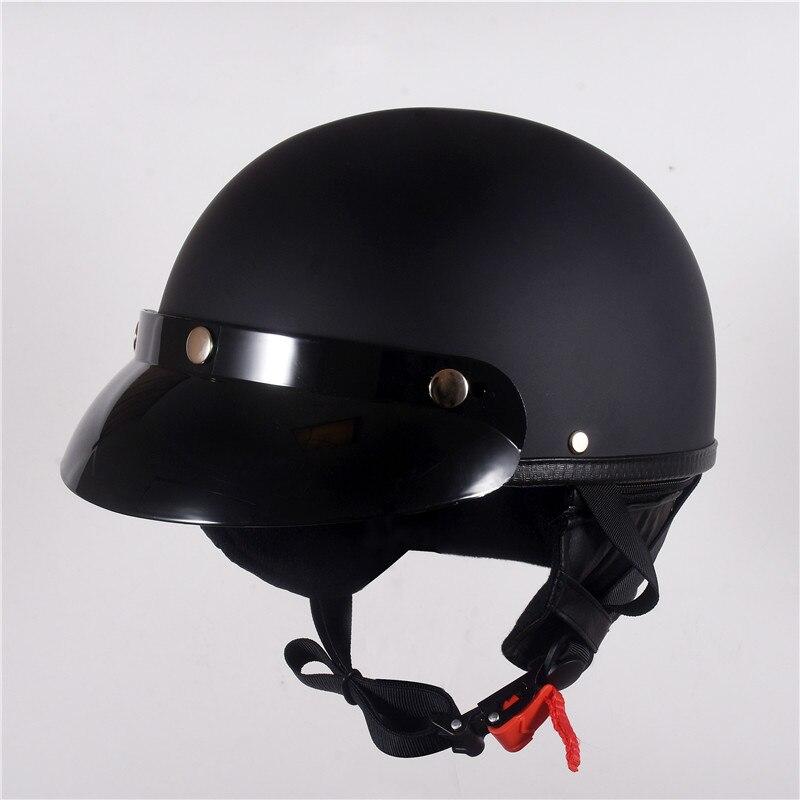 2020 helm Vintage Halbe Gesicht Motorrad sommer Helm Casco Casque Moto Retro Helme DOT mit halstuch