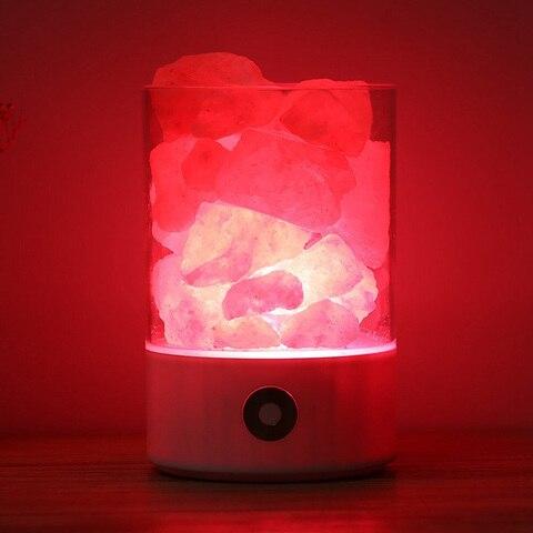negativo pedra ionica lava sal luz da noite para bedro