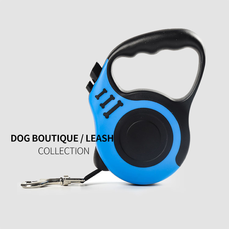 Pet Leashing Device Dog Hand Holding Rope Automatic Contraction Dog Rope Chain Dog Supplies