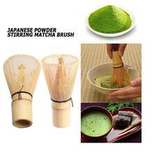 Японская зеленая чайная щетка, Бамбуковая традиционная посуда, прочная устойчивая матча, практический порошок, венчик, инструмент для домашнего измельчения