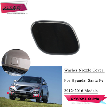 ZUK For SantaFe / IX45 2013 2014 2015 2016 Front Bumper Headlight Washer Nozzle Cover Washer Cap Shell Case For Hyundai image