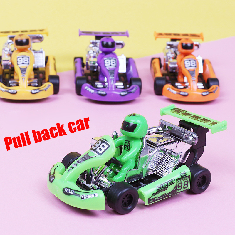 New Classic Boys Girl Vehicle Pull Back Car Toy Plastic Toys Children's Toys Kids Baby Fun Christmas New Year's Gift Educational Toys DS29