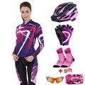 2020 Pro Team Radfahren Jersey Set Männer Sommer Langarm Frauen Fahrrad Kleidung MTB Bike Kleidung Fitness Sportswear Zyklus Kleid-in Fahrrad-Sets aus Sport und Unterhaltung bei