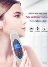 Ultraschall Gesicht Haut Wäscher Reiniger Gesicht Reinigung Akne Entfernung Poren Peeling Ton Aufzug ultraschall Reinigen Gesichts Massager
