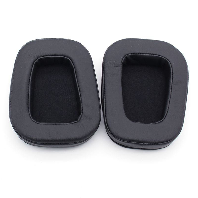 1 Pair Replacement Headphone Earpads For Logitech G633 G933 Protective Ear Pads image