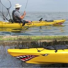 38/40Cm zęby rekina usta naklejka naklejka wędkarstwo Ocean łódź Most kajak łódź rybacka ponton