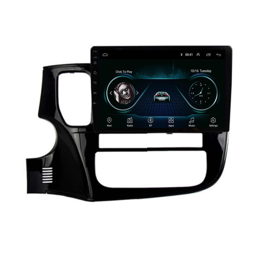4G LTE Android 8.1 Voor Mitsubishi Outlander Xl 3 2017 2018 2019 2020 Multimedia Stereo Auto Dvd-speler Navigatie GPS Radio
