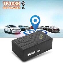 Gps 108B сильный магнит умный локатор отслеживания автомобиля TK108B GSM и gps трекер добавить гео-забор/SOS/внешнее отключение питания сигнализации
