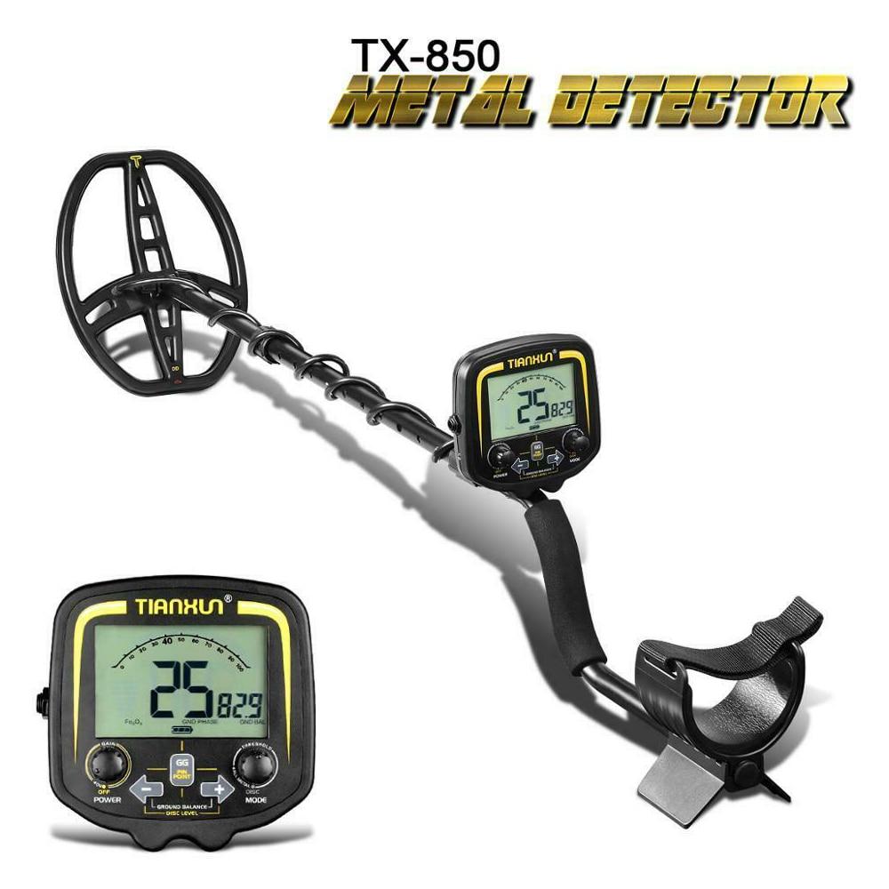 TIANXUN TX 850 Metal Detector Underground Depth 2.5m Scanner Gold Detector Accessories Treasure Hunter Pinpointer|Industrial Metal Detectors|   - AliExpress