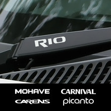 Etiqueta do limpador de carro para kia carens carnaval cerato k5 esporte mohave niro picanto rio sedona seltos sportage stinger telluride venga