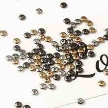 4/6 мм браслетов ожерелий диаметр Шарм spacer Бусины колесо