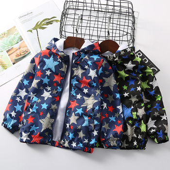 2020 berbeć dziewczyny płaszcz nowe chłopięce z kapturem na suwak odporny na deszcz kurtka wiatroszczelna niemowląt 2-7 lat ubrania kostiumy dla dzieci tanie i dobre opinie BaBuDu Moda Poliester Geometryczne REGULAR Pełna Pasuje prawda na wymiar weź swój normalny rozmiar Cienkie Oxford KBG-5UY