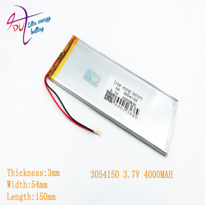best battery brand 1PCS lithium polymer batteries 0354150 3054150 3.7V 3055150 <font><b>4000</b></font> <font><b>mah</b></font> tablet MID built-in image