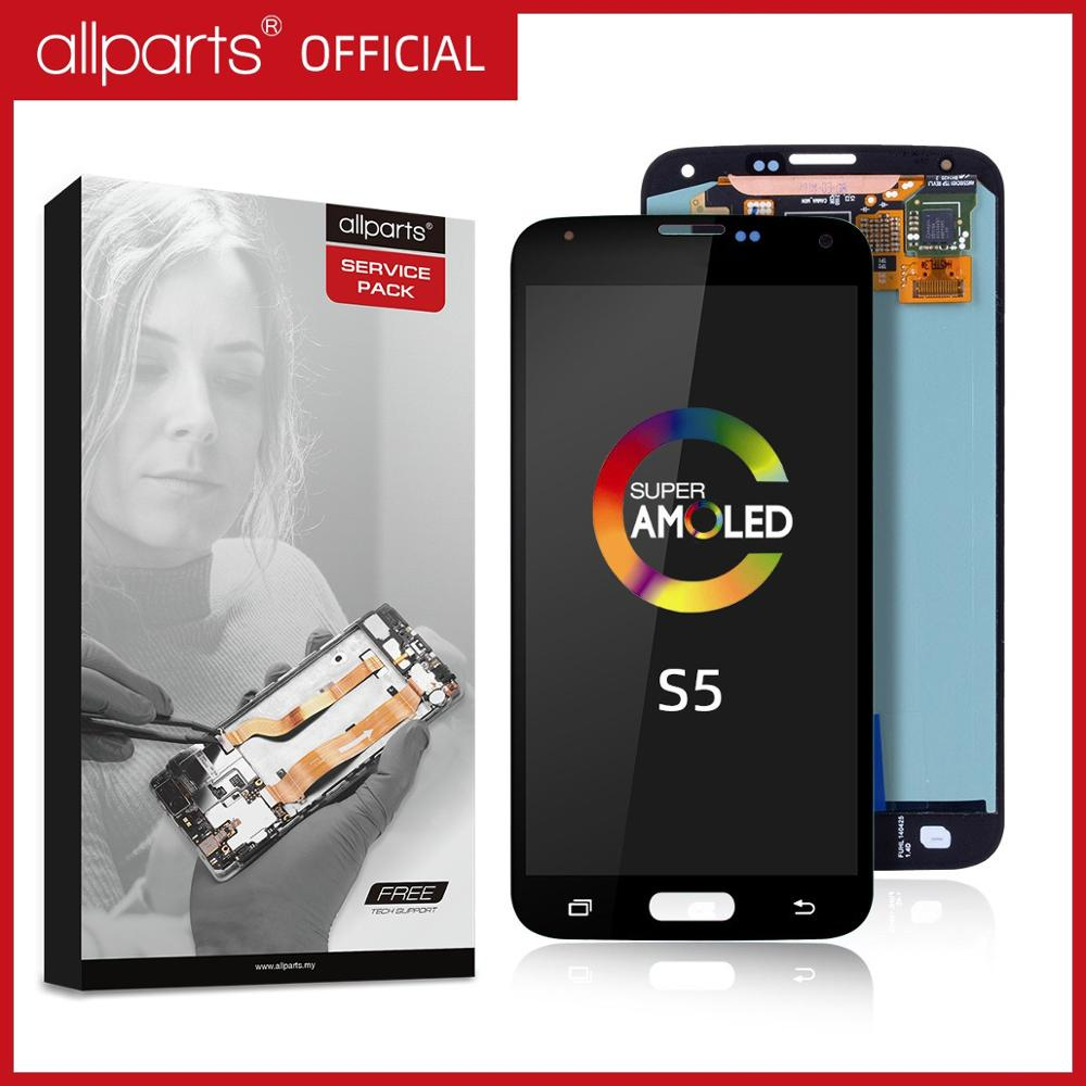 5.1'' Original AMOLED LCD For SAMSUNG S5 <font><b>Display</b></font> LCD Touch Screen For SAMSUNG Galaxy S5 LCD Screen S5 i9600 G900 <font><b>Display</b></font> Parts image