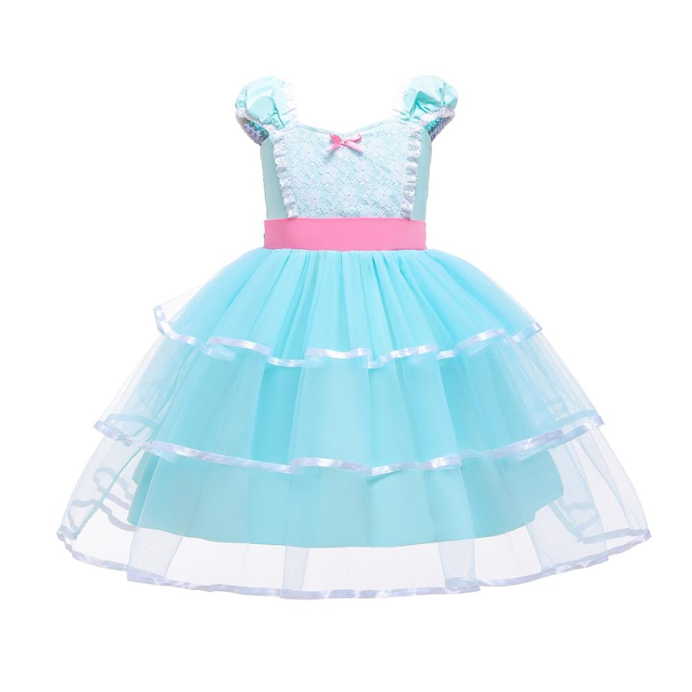 Image 3 - Summer Toy Story 4 Bo Peep Costume Cosplay Girls Dress Halloween Costume For Kids Carnival Party Dress Up ClothingGirls Costumes   -