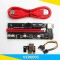 2021 Новый VER009S USB 3,0 PCI-E VER 009S Экспресс 1X 4x 8x 16x удлинитель адаптер SATA 15pin до 6 pin Мощность кабель