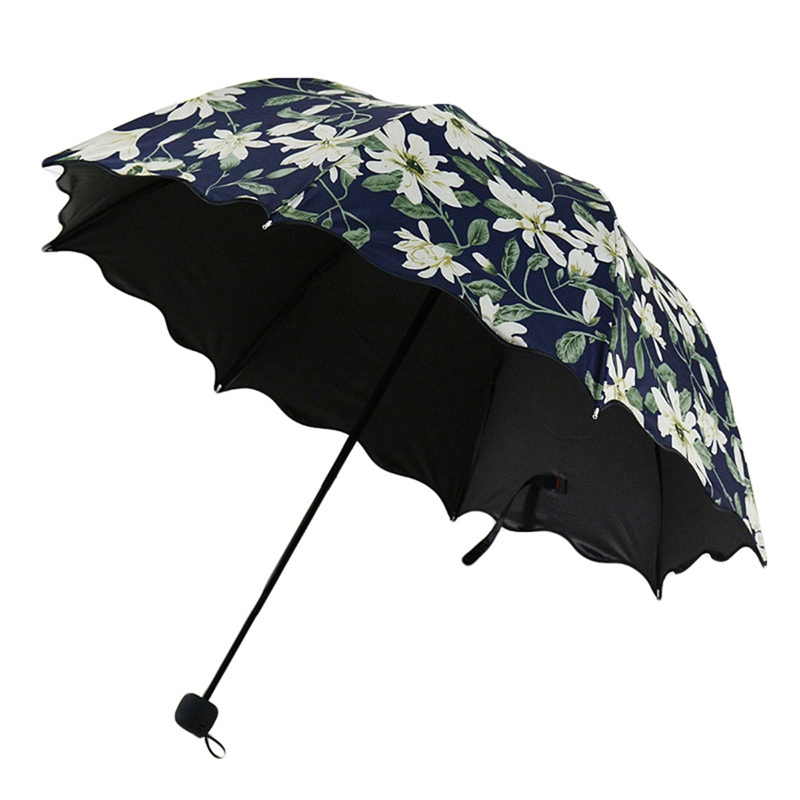 Axolotl Automatic Tri-Fold Umbrella Parasol Sun Umbrella Sunshade