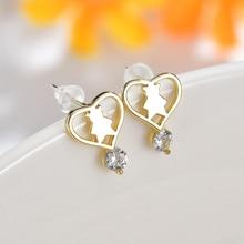 Karopel crystal bear earrings 2019 women earring drop fashion jewelry gold for wedding party
