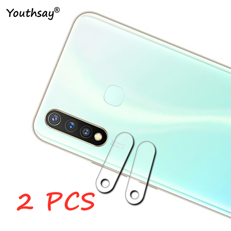 2PCS For Vivo Y19 Glass Camera Lens Protector For Vivo Y19 Glass Camera Screen Film Glass For Vivo Y19 Y17 S6 Z6 Protective Flim