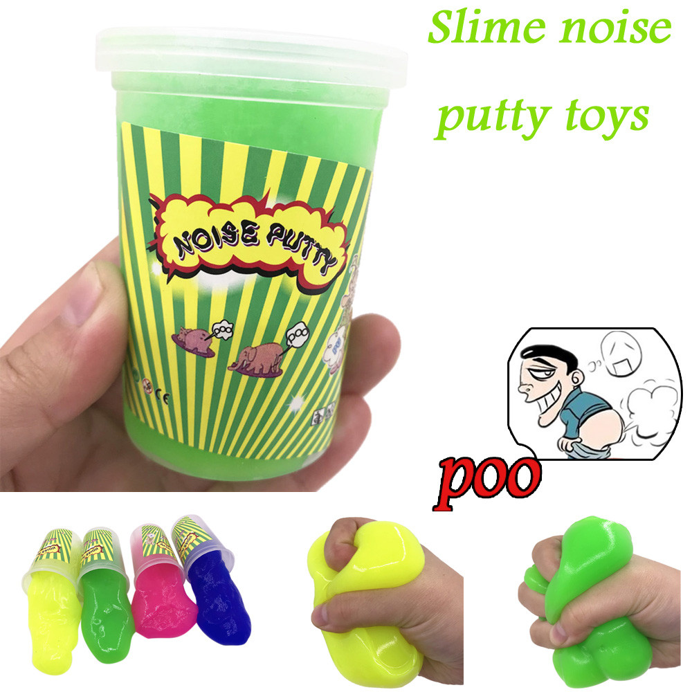Closestool Noise Slime Toys Fart Mud Tricky Stress Relief Sludge Toys Squishy Toy