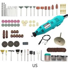 цена на 1Set US/EU Plug Electric Grinder Mini Drill Polishing Machine Variable Speed Kit