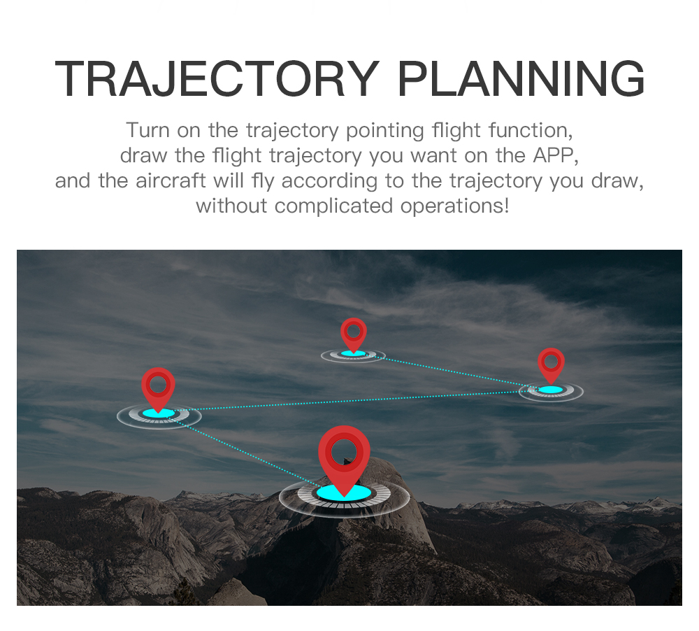 SG901 Drone Trajectory Flight