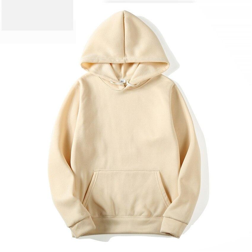 MRMT 2020 Brand Men's Hoodies Sweatshirts Leisure Pullover for Male Solid Color Long Sleeve Hoodie Sweatshirt