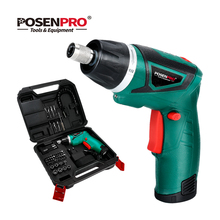 Cordless Screwdriver Wood-Working-Tools Li-Ion-Battery Electric Twistable-Handle Rechargeable