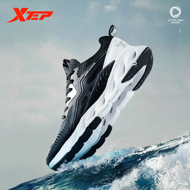 Xtep X-FLOW Women Running Shoe Breathable Light Weight Air Mesh Running Shoes Sneakers For Women 881218119600