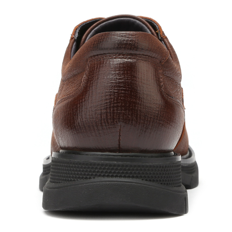 CAMEL Genuine Leather Men's Shoes England New Fashion Business Casual Lightweight Flexible Non-slip Comfortable Dad Sheos Men 3