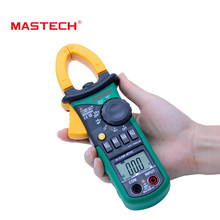 MASTECH MS2008A Digital Clamp Meters Auto Range Clamp Meter Ammeter Voltmeter Ohmmeter w/ LCD Backlight Current Voltage Tester(China)