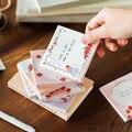 60 листов/лот из блакнота для бумаги для заметок на клейкой основе сладкий кубический Бумага дневник в стиле Скрапбукинг наклейки для офиса ...